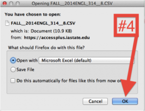 Figure C: Open the file in a program like Excel